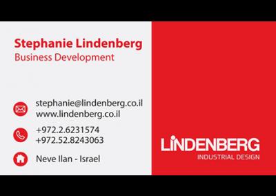 הדפסת כרטיסי ביקור לינדנברג